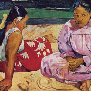 Gauguin women Tahiti